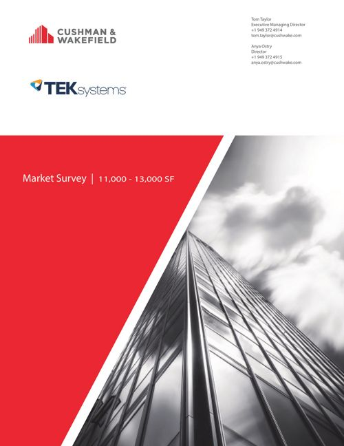 TEKsystems Survey - Tour Book