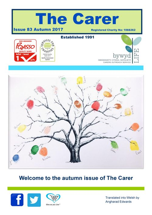 The Carer Issue 83 Autumn 2017