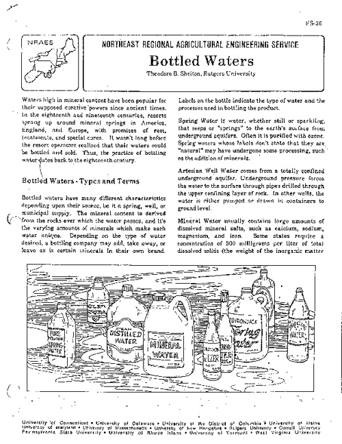 Bottled Water Article