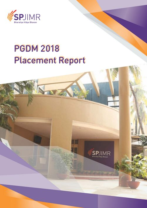 PGDM Placement Report 2018