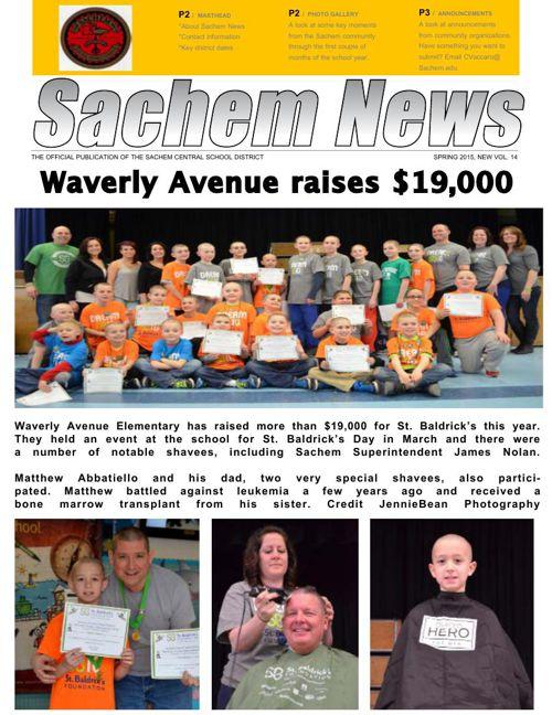 Sachem News, Spring 2015