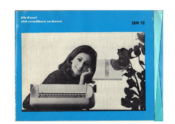 Bedienungsanleitung IBM 72