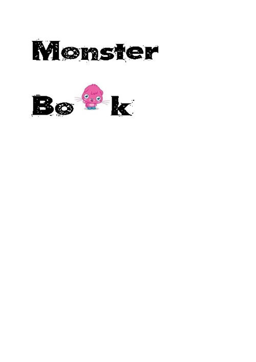Monster book simone