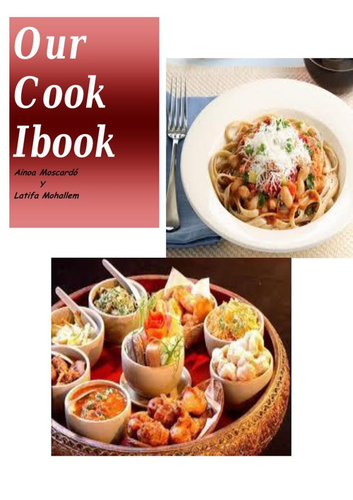 Our Cook Ebook