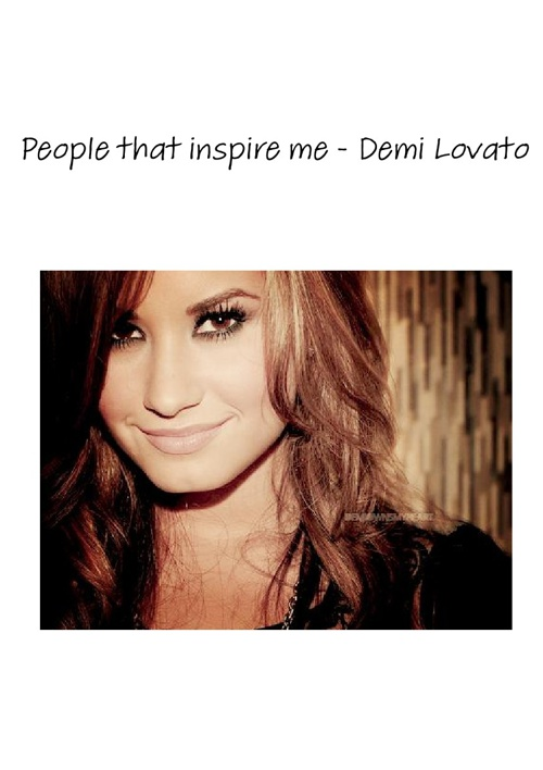 people that inspire me