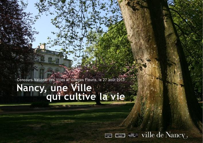 Brochure Nancy, une Ville qui cultive la vie