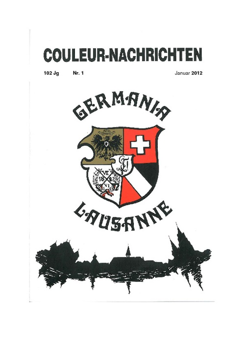 Couleurnachrichten - Nr. 1 - Januar 2012