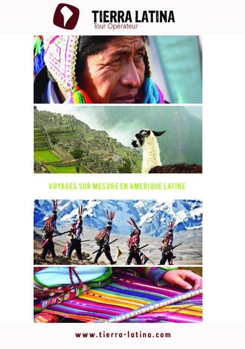 Brochure Tierra Latina - Séjours chez l'habitant