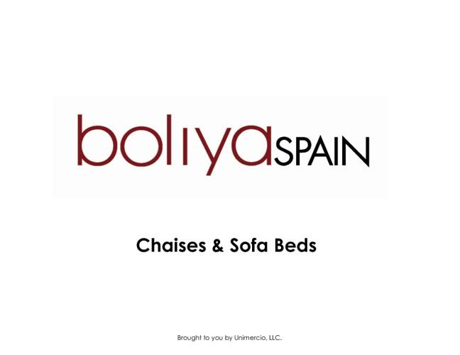 boliya Chaises & Sofa Beds