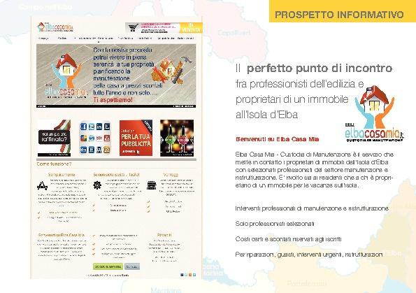Elba Casa Mia - Prospetto Pubblicitario Informativo