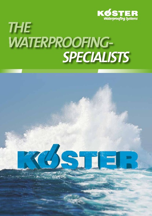 The Waterproofing Specialists