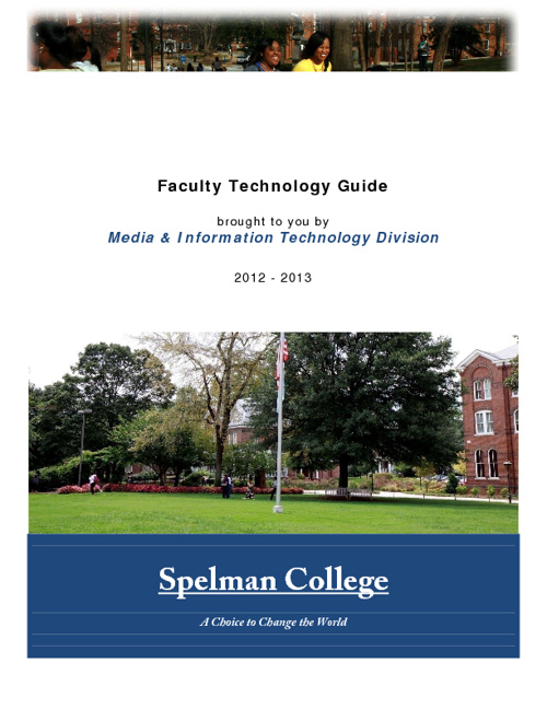Faculty Guide