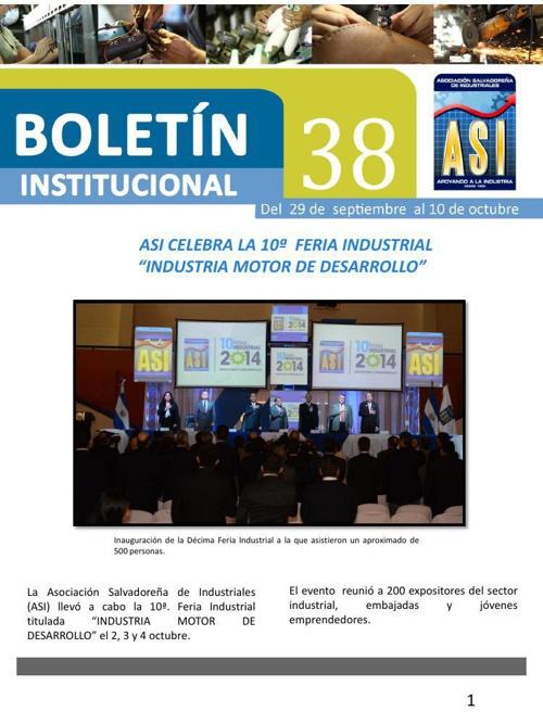 Boletín 38 de ASI