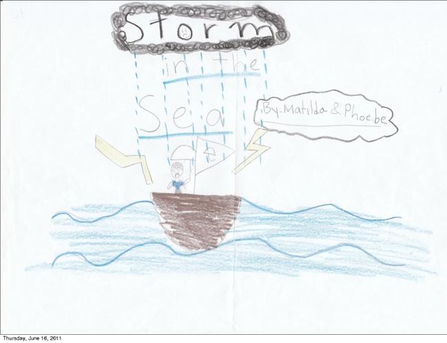Storm in the Sea Yuriko, Annie, Phoebe and Matilda