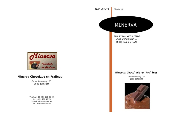 Minerva Catalogus