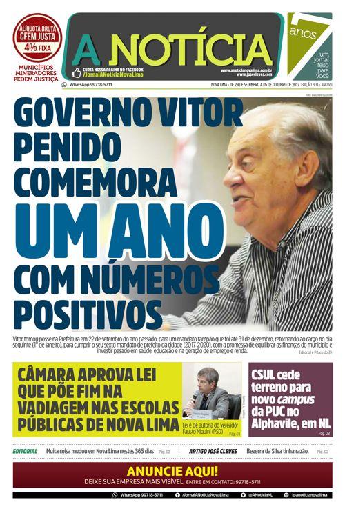 Jornal A Notícia - Edição 303