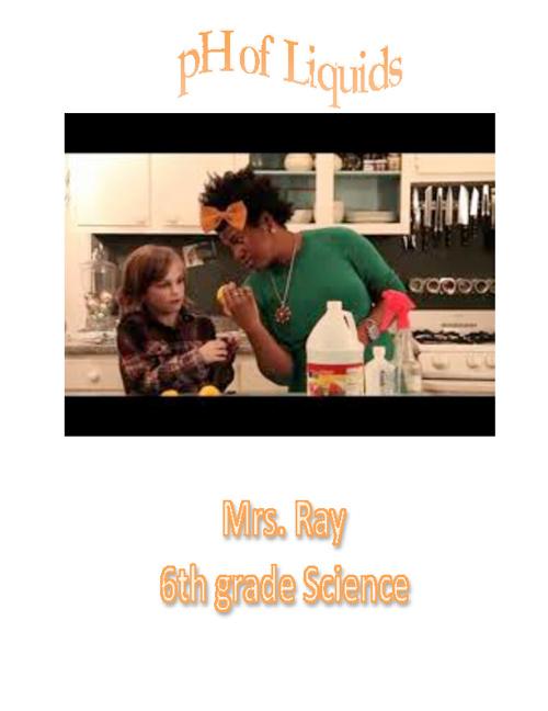 Finding pH of Liquids
