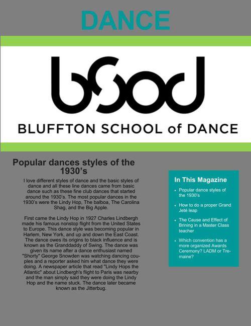 P4 Dance Magazine- Gabi Marshall