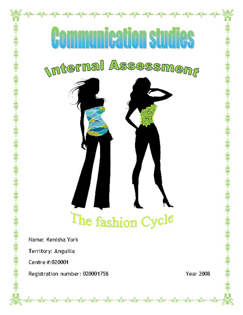 The fashion Cycle (I.A)
