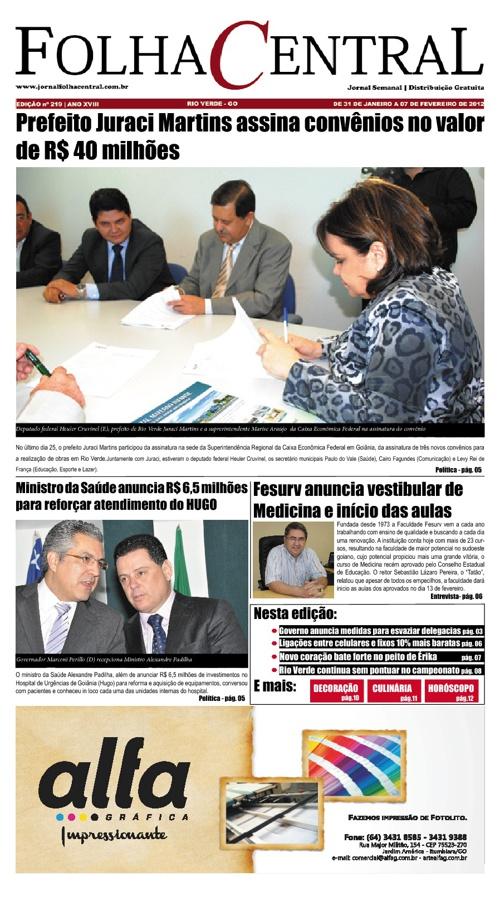 Jornal Folha Central - 219