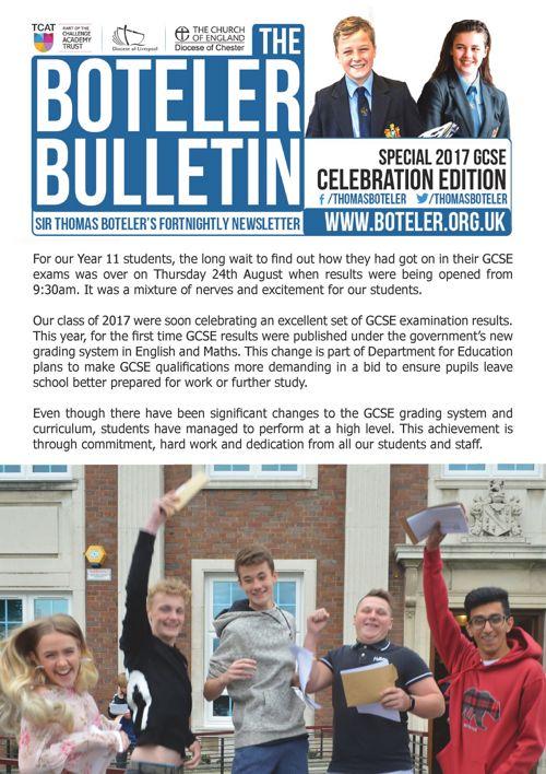 Celebration Bulletin 2017