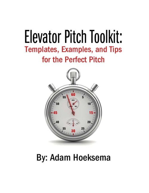 Elevator Pitch Samples eBook