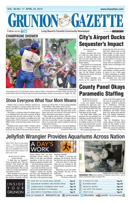 Grunion Gazette | April 25, 2013