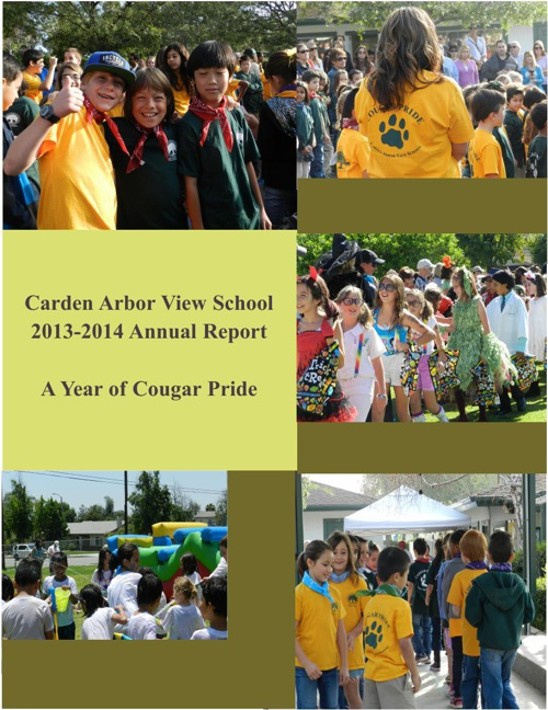 CAVS ANNUAL REPORT 2013-14