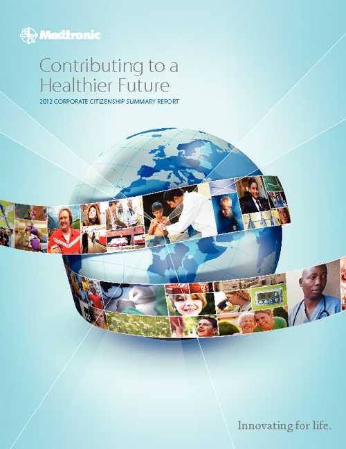 Medtronic 2012 Corporate Citizenship Summary Report