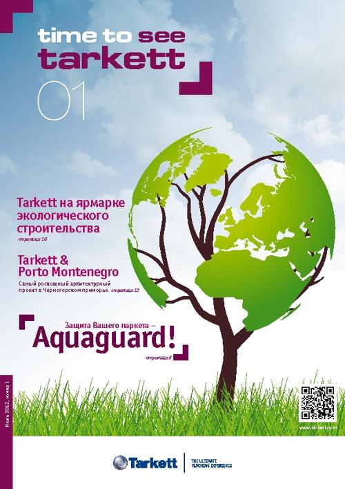 Tarkett Time to see magazine RUS
