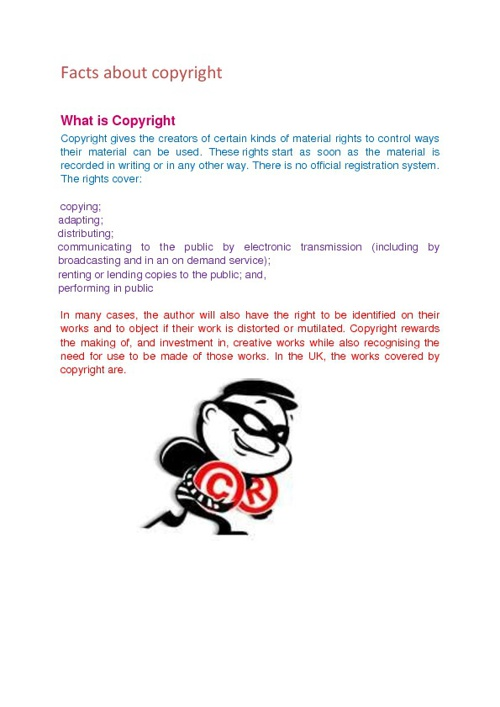copyright manual