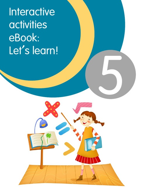 Let's learn! A interactive activities ebook for 5 grade.