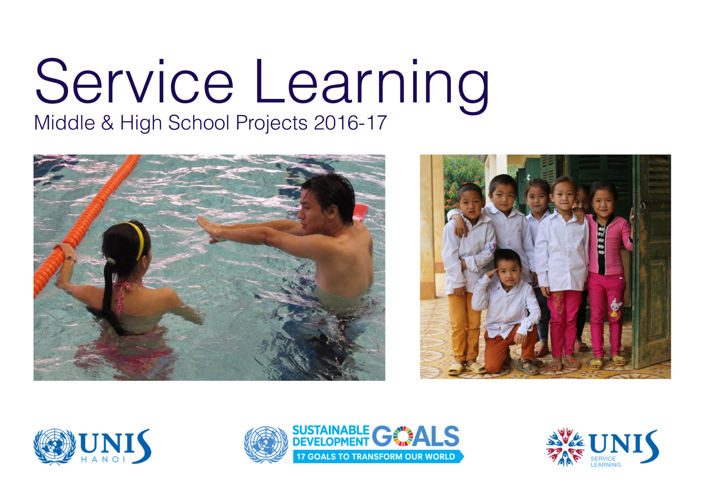 UNIS Hanoi Service Learning Booklet 2016-2017