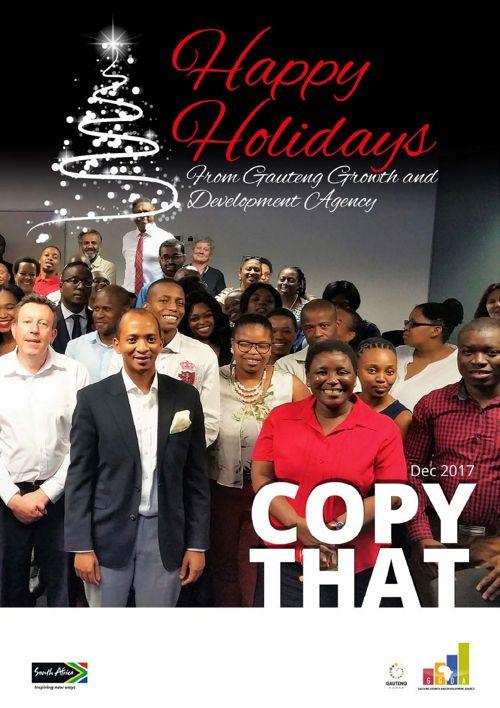 CopyThat Newsletter-December
