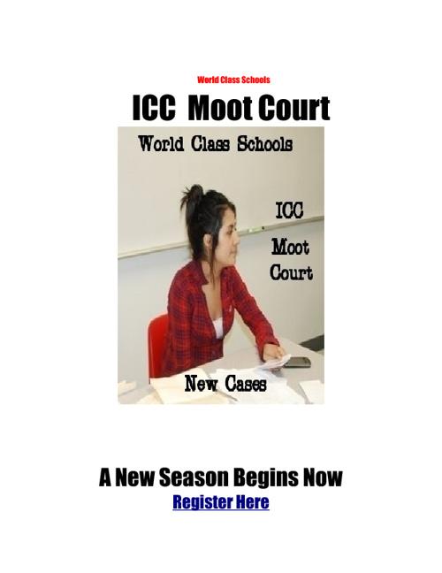 ICC Moot Court