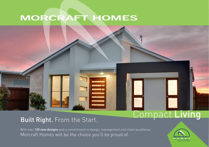 Morcraft Homes Compact Living