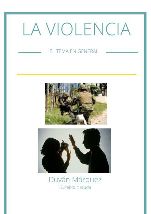 Como Se Vive La Violencia El Mundo