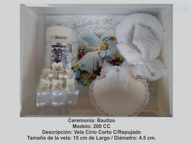Bautizo Cirio Corto