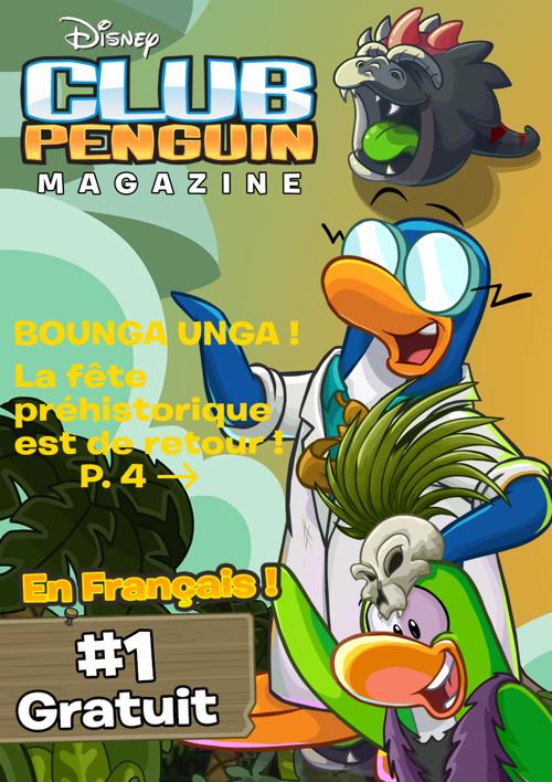 Club Penguin Magazine   Janvier 2014
