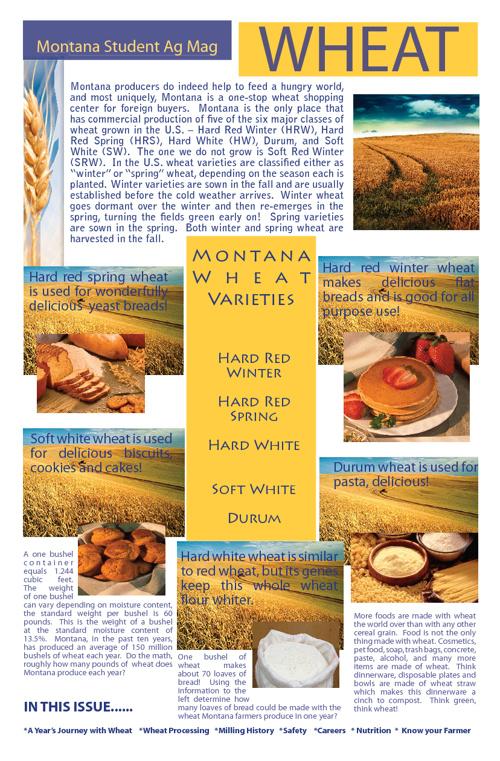 Montana Student Wheat Ag Mag