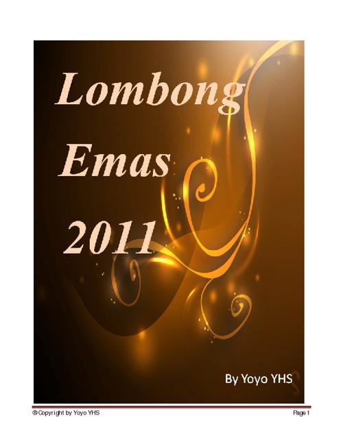 Lombong Emas 2011 - By YoYo YHS