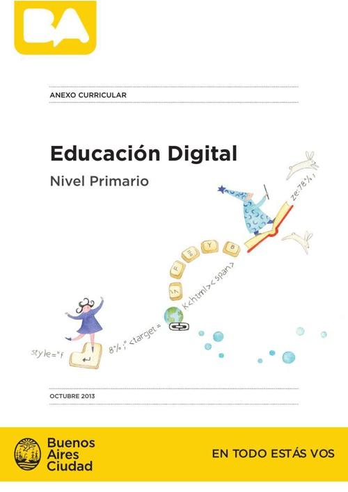 Educación Digital. Anexo curricular(1)