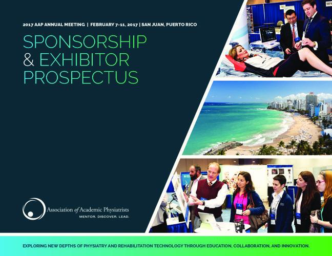 AAP 2017 Puerto Rico Sponsorship & Exhibitor Prospectus