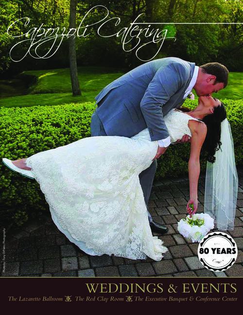 Capozzoli Catering Bridal Magazine