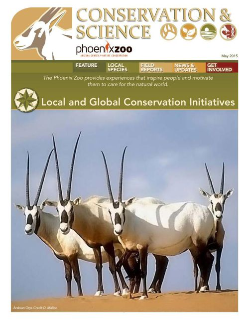Conservation and Science 2015 - Issue 1