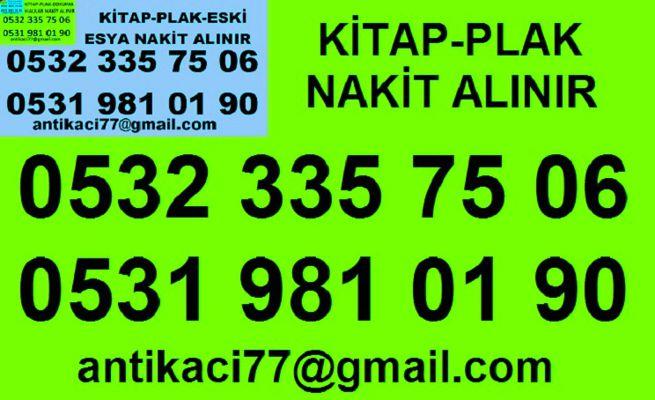 0531 981 01 90 FATİH KADIRGA antika-eşya-plak-kitap-el yazması-k