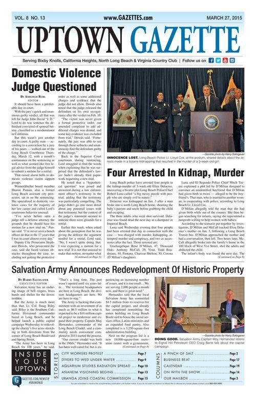 Uptown Gazette  |  March 27, 2015