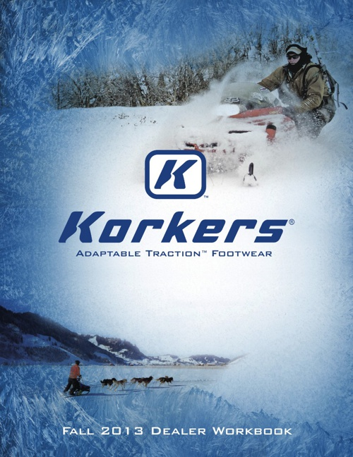 Korkers Fall 2013 Product Catalog
