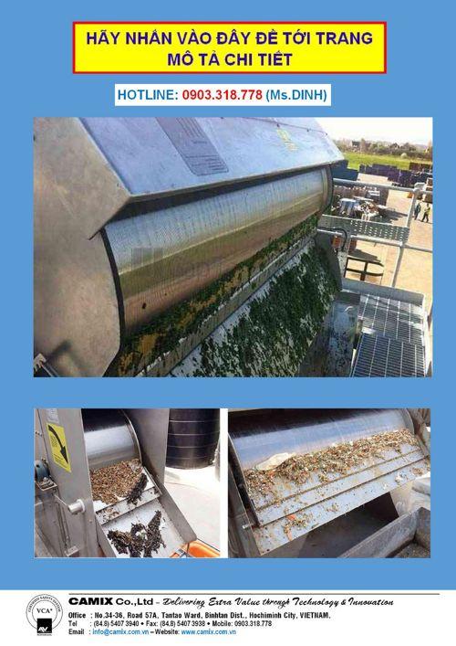 ❽❽❽ Máy tách rác trống quay chất lượng