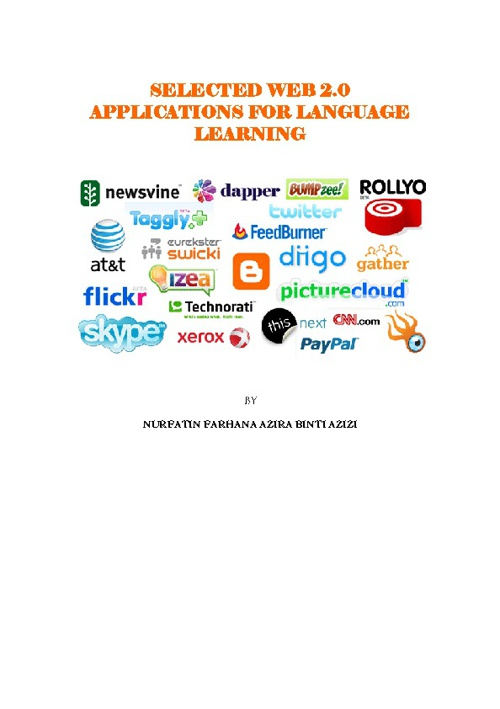SELECTED WEB 2.0 APPLICATIONS FOR LANGUAGE LEARNING